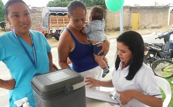Paz Ariporo, 21 de enero Jornada de vacunacion