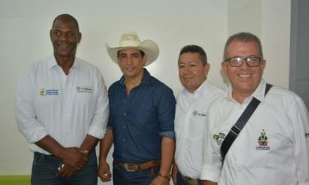 Ante Coldeportes, Gobernador postuló a Casanare para inversiones y eventos deportivos.