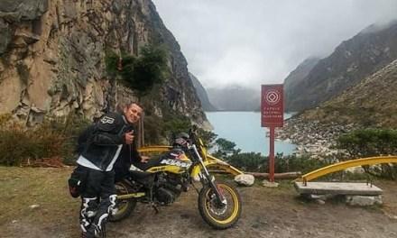 #EnAudio Peruano sale de paseo en su moto. Lleva 3 meses viajando y hoy está en Yopal.