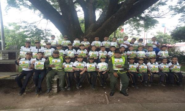 Policía Ambiental y Ecológica Casanare lidera proceso de educación ambiental.