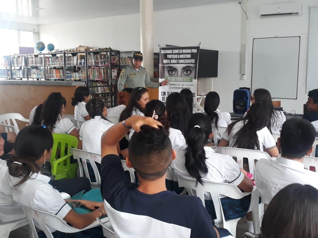 Institución educativa Megacolegio se vincula al programa del grupo juvenil Guardines del turismo