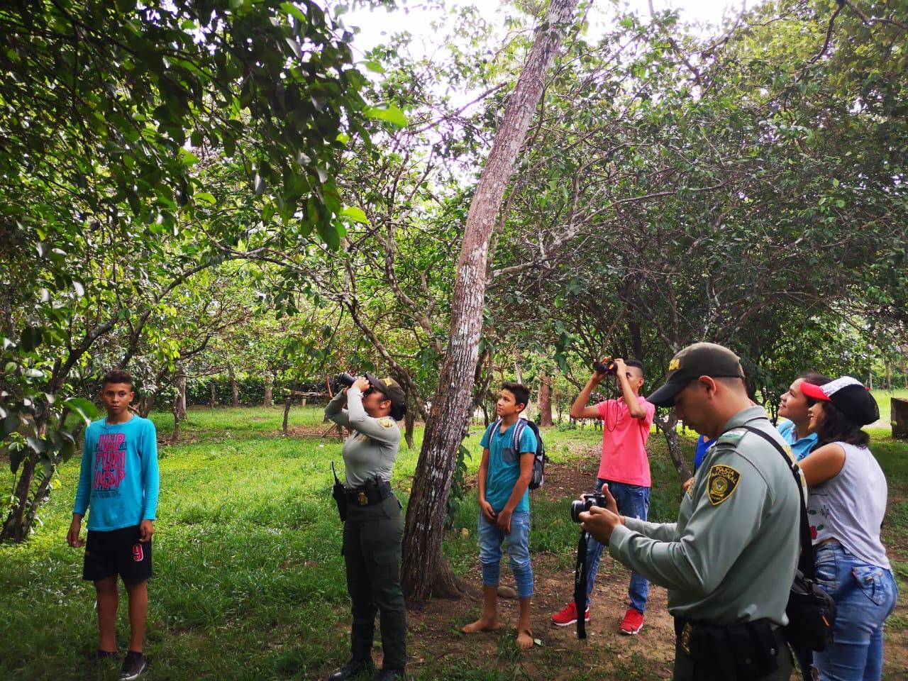 Policía de turismo participa en el día mundial del global big day