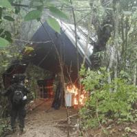 Hallado y destruido laboratorio para el procesamiento de alcaloides en zona rural de Monterrey