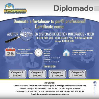 Diplomado auditor interno Ok