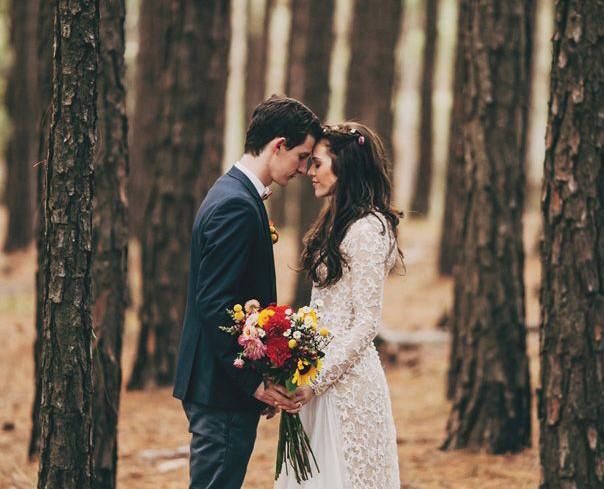 Weddings: Stylish Couples 8
