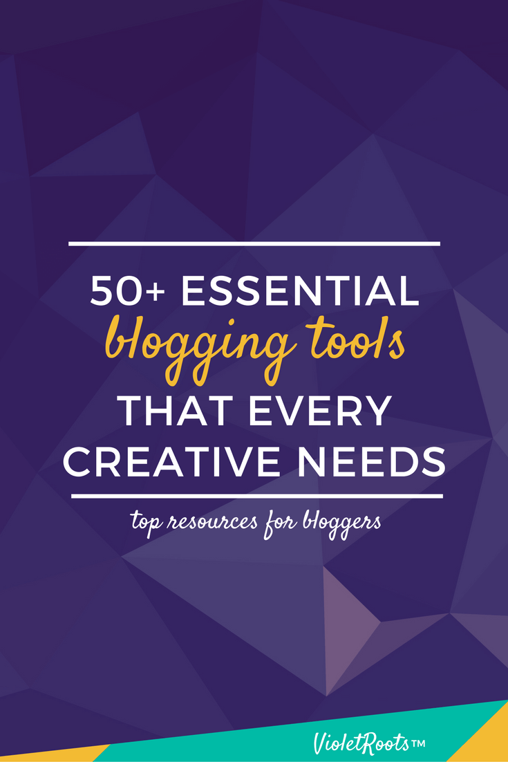 50+ Essential Blogging Tools - Want to have a memorable and successful blog? These essential blogging tools are what every creative needs in order to make an impact in the digital space!
