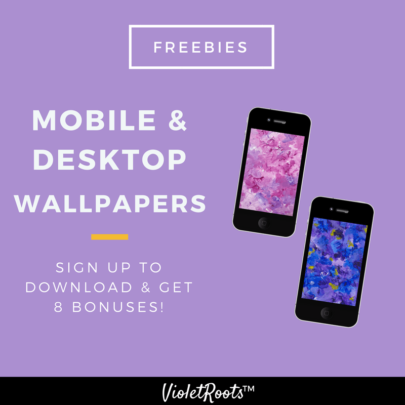 Live a Colorful Life With Free Wallpapers (Mobile + Desktop) - As a gift to my community, I'm sharing free wallpapers! To show my appreciation feel free to download 3 mobile and desktop wallpapers for a limited time!