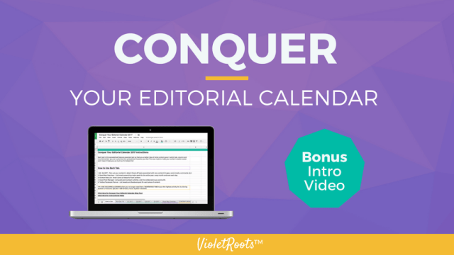 Conquer Your Editorial Calendar (CYEC 2017 Bundle) - The CYEC 2017 Bundle is an essential resource for content creators who struggle with staying on top of their editorial calendar and maintaining consistency.