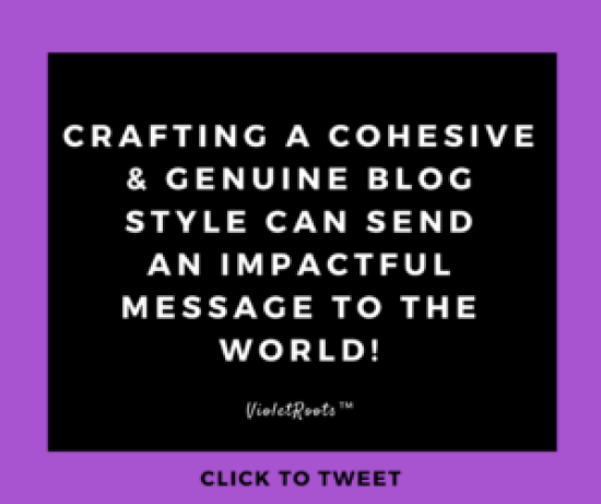 How to Create a Genuine Blog Style Full of Personality 2