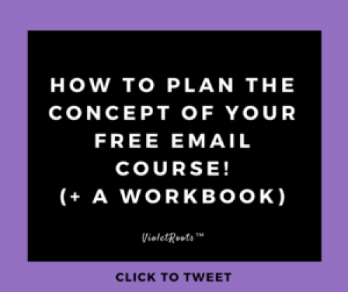 How to Plan the Concept of Your Free Email Course - Learn how to plan the concept of your free email course. Develop your unique angle, ensure your audience will benefit and gain more email subscribers.