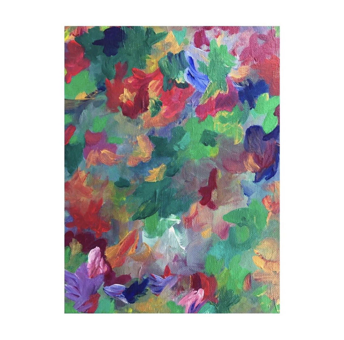 Shop Violet Roots - Abstract Canvas - East of Eden
