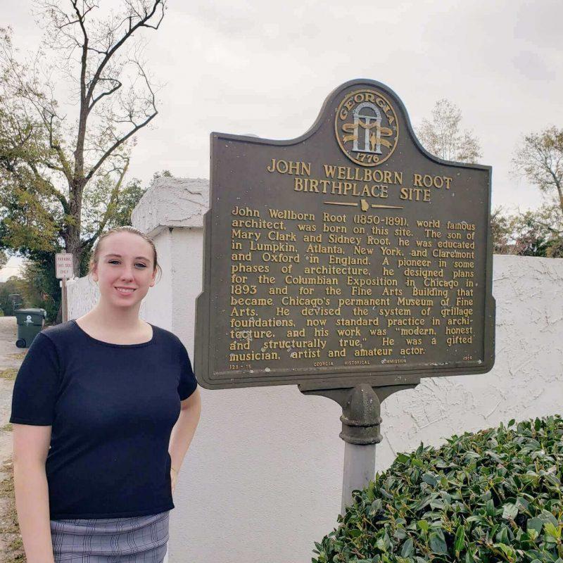 Birthplace of John Wellborn Root, Lumpkin, Georgia