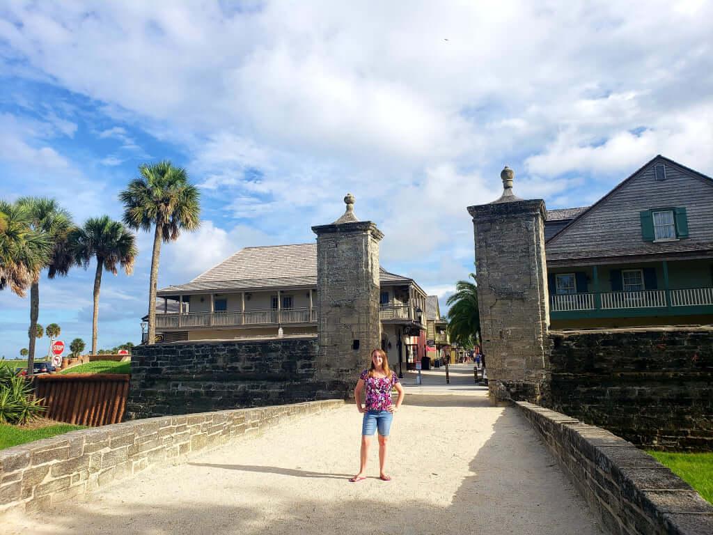 St. Augustine City Gates, St. Augustine, Florida