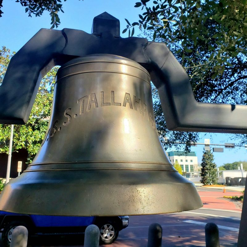 Bell from the USS Tallahassee, Florida