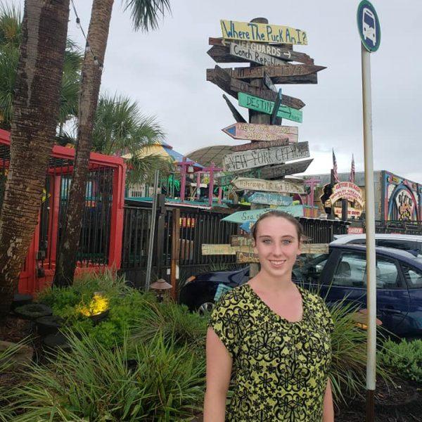 Violet Sky at Fudpucker's, Destin, Florida