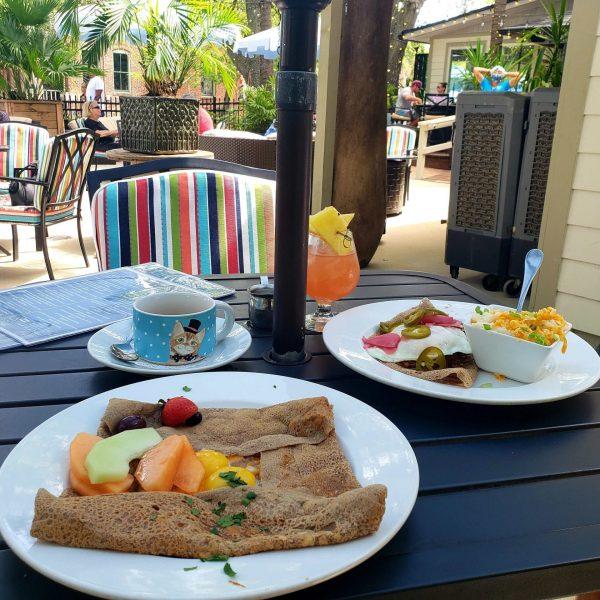 Breakfast at The Patio Place, Fernandina Beach, Florida