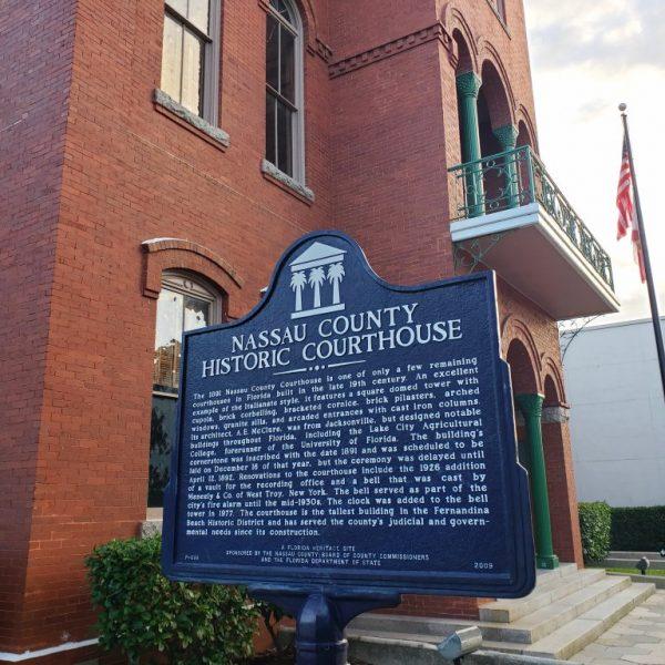 Nassau County Historic Courthouse, Fernandina Beach, Florida