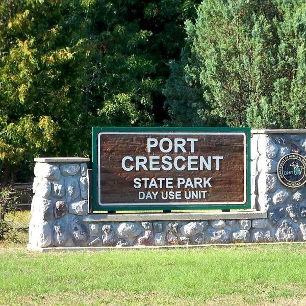 Port Crescent State Park, Port Austin, Michigan