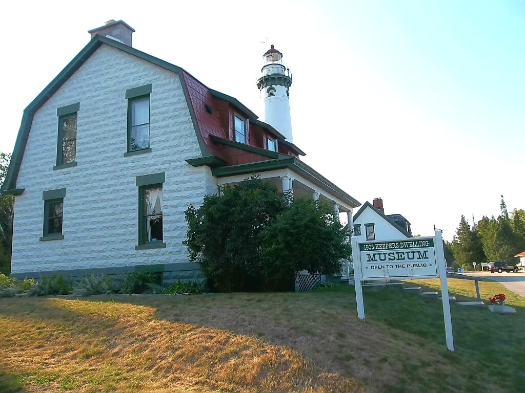 New Presque Isle Lighthouse, Michigan