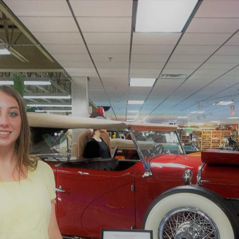 Violet Sky at Tallahassee Automobile Museum in Tallahassee, Florida