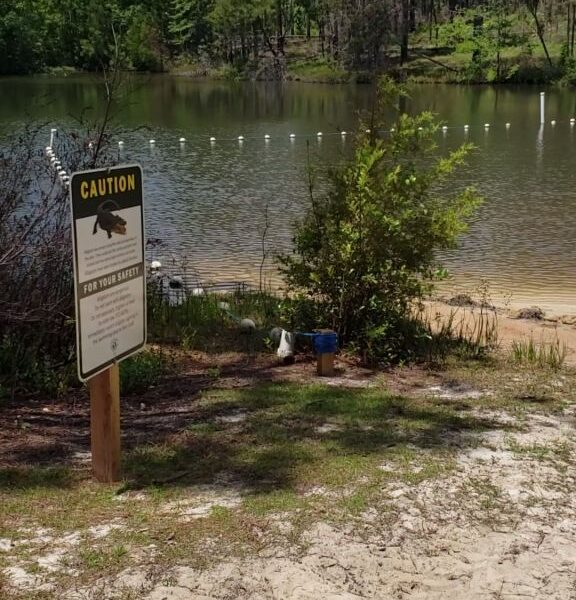 Turtle Lake at Falling Waters State Park, Chipley, Florida