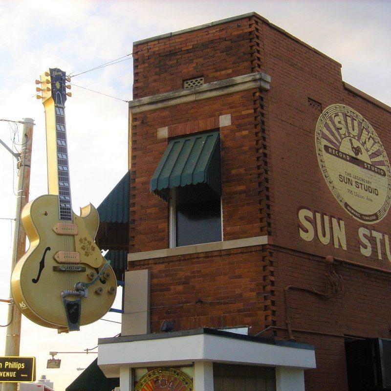 Sun Studios, Memphis, Tennessee (Photo Credit: Wikipedia)