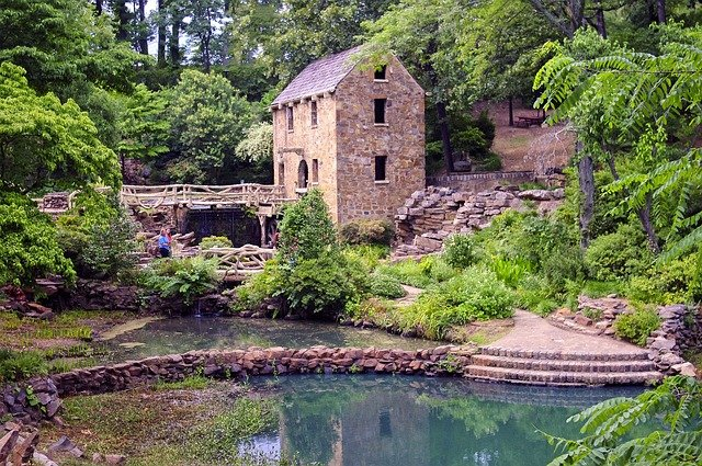 The Old Mill, North Little, Rock, Arkansas (Photo Credit: Pixabay)