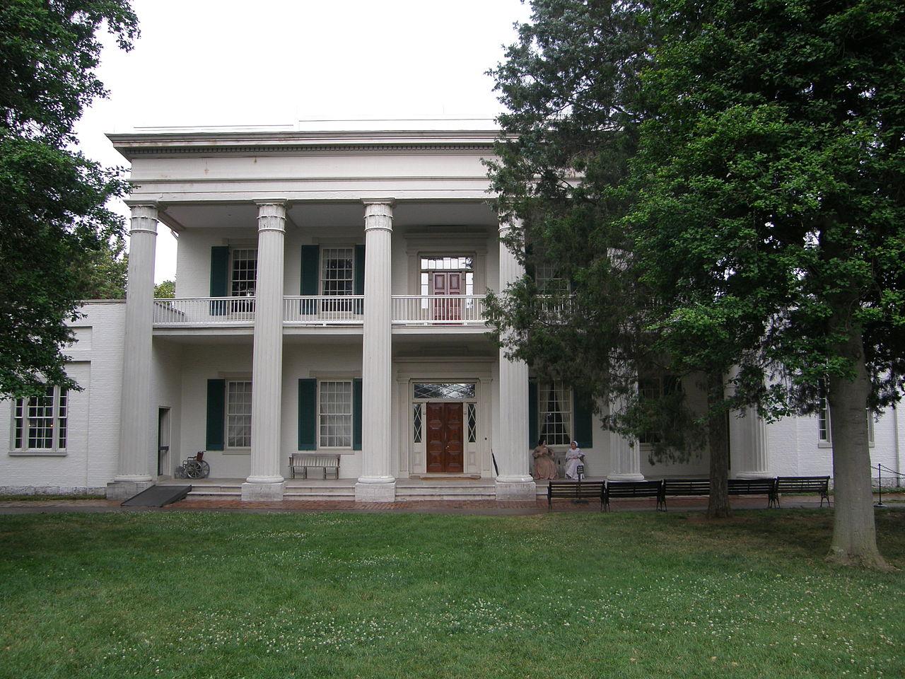 The Hermitage, Nashville, Tennessee (Photo Credit: Wikipedia)