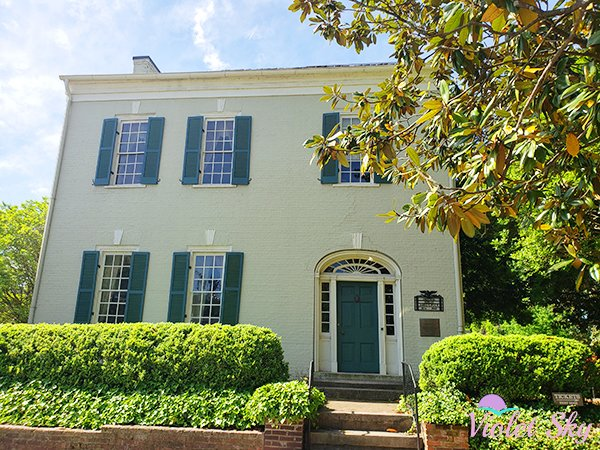 James Polk K. House, Columbia, Tennessee (Photo Credit: Violet Sky)