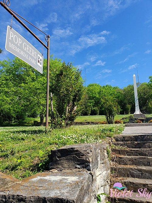 Pop Geers Memorial Park, Columbia, Tennessee (Photo Credit: Violet Sky)