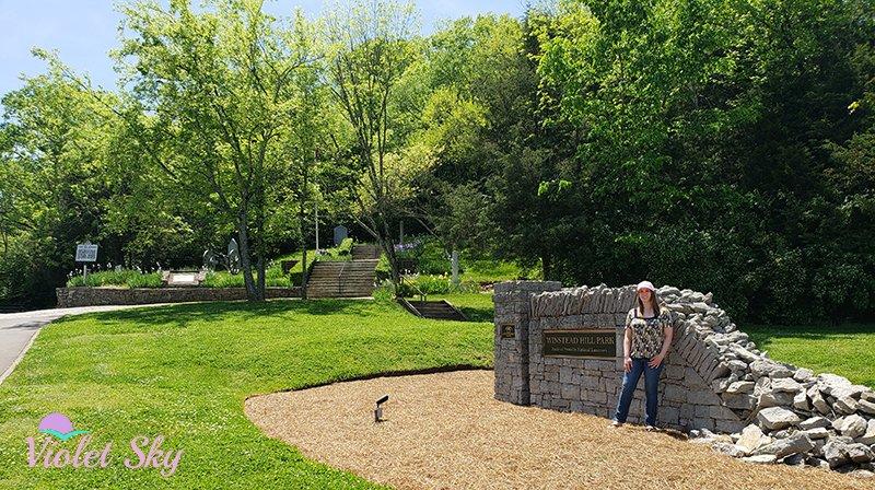 Violet Sky at Winstead Hill Park, Franklin, Tennessee (Photo Credit: Violet Sky)