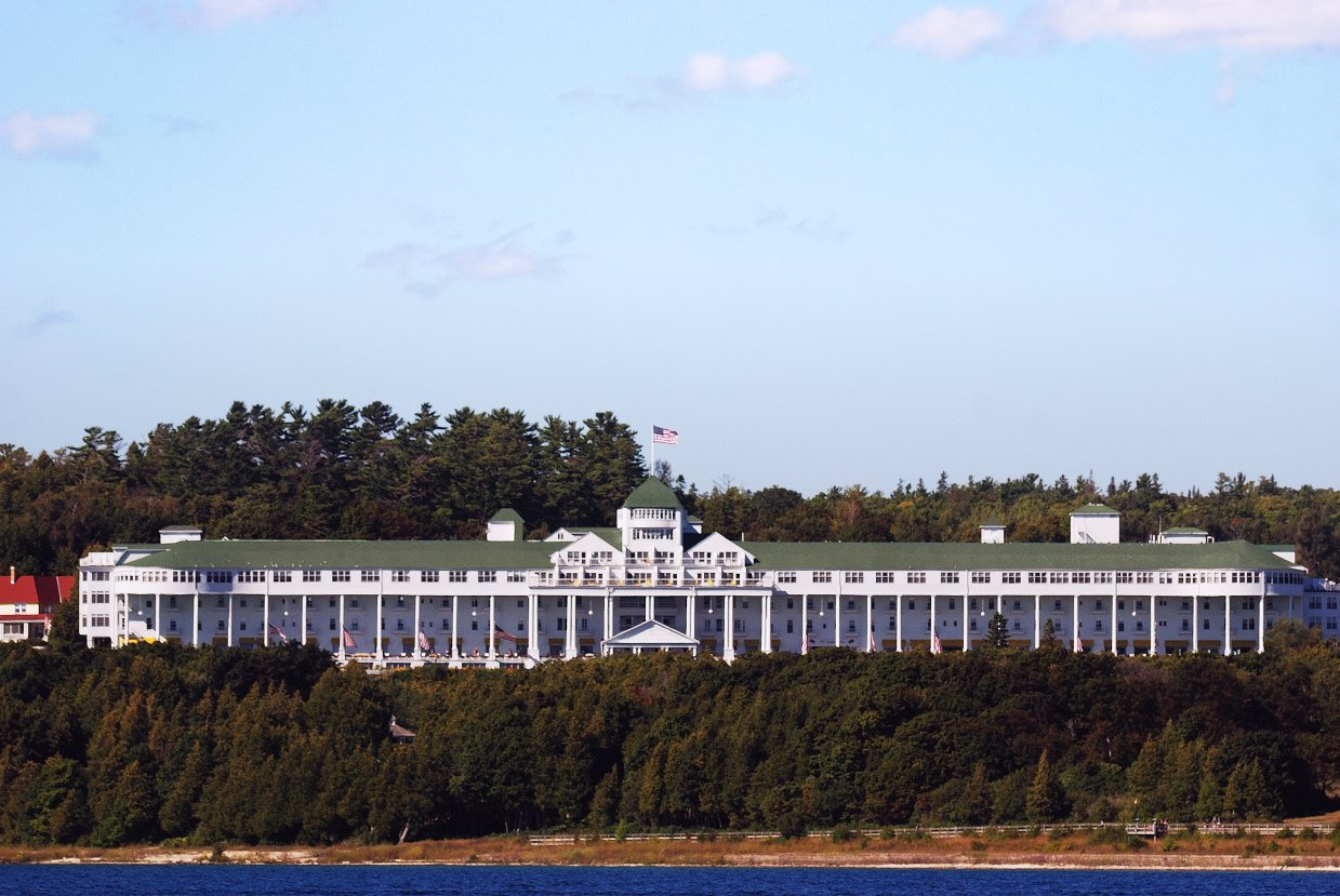 Grand Hotel, Mackinac Island, Michigan (Photo Credit: Wikipedia)