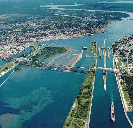 Soo Locks, Sault Ste Marie, Michigan (Photo Credit: Wikipedia)