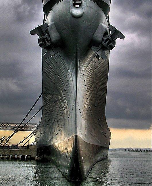 USS Wisconsin, Norfolk, Virginia (Photo Credit: Wikipedia)