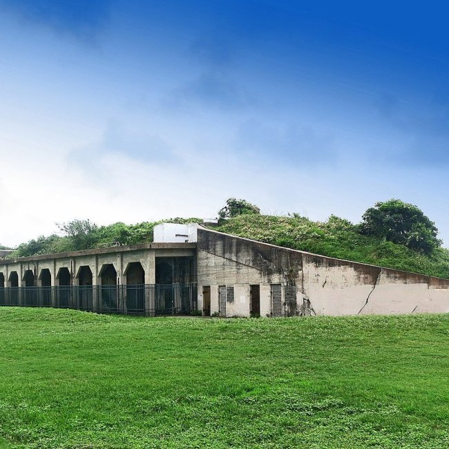 Fort Travis, Port Bolivar, Texas (Photo Credit: Wikipedia)