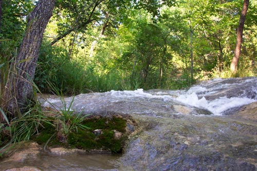 Creek in the Chickasaw National Recreation Area, Oklahoma (Photo Credit: Wikipedia)
