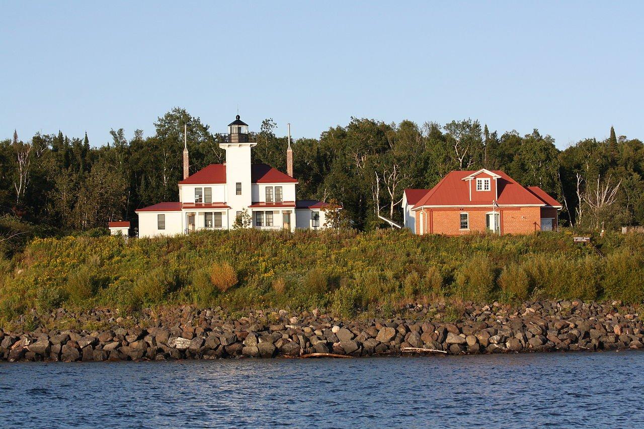 Raspberry Island Lighthouse, Wisconsin (Photo Credit: Wikipedia)