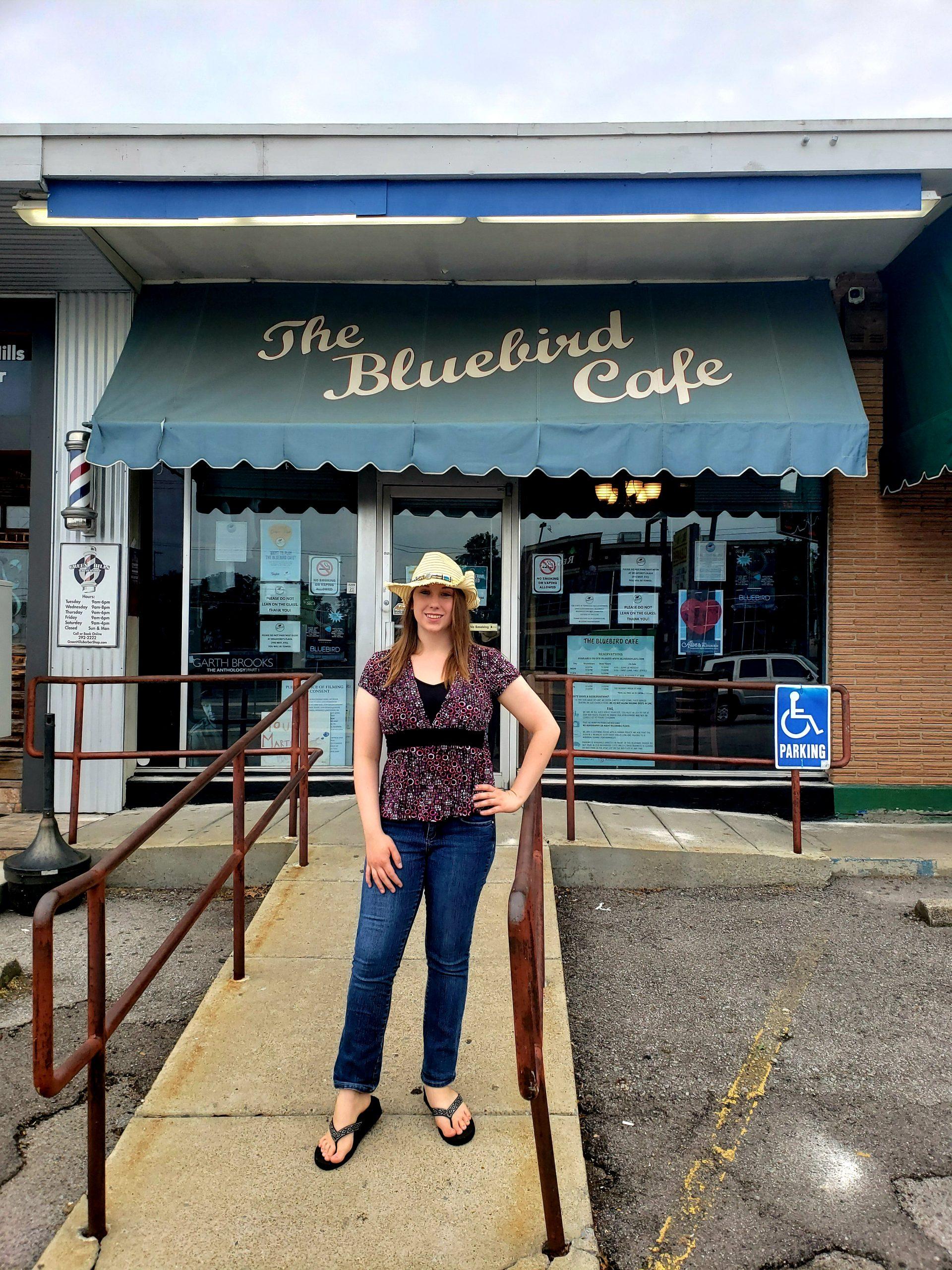 Violet Sky at Bluebird Cafe, Nashville, Tennessee (Photo Credit: Violet Sky)
