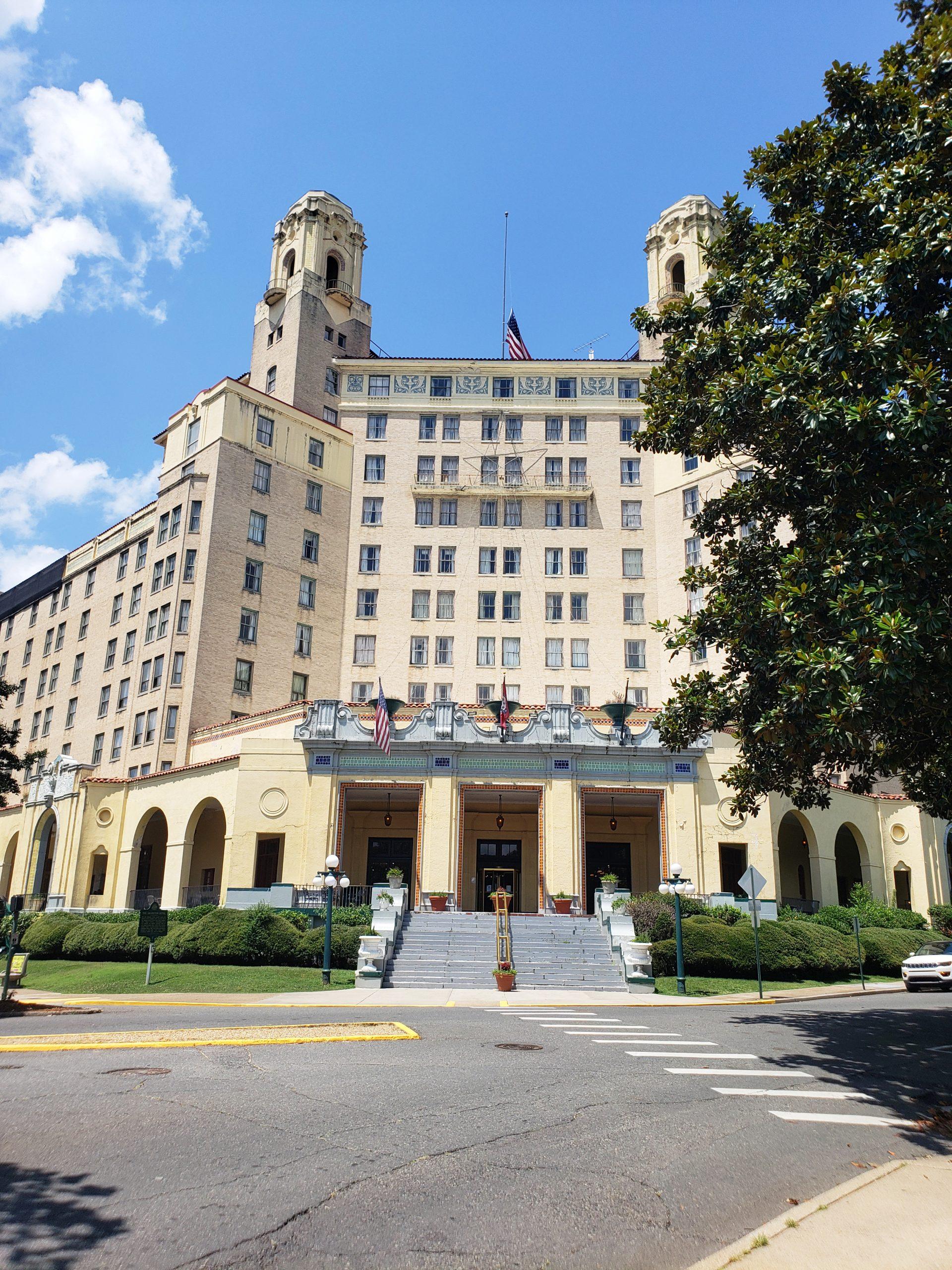 Arlington Hotel, Hotel Springs, Arkansas (Photo Credit: Violet Sky)