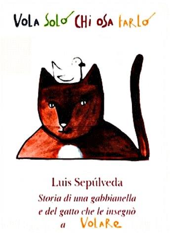 Risultati immagini per storia di una gabbianella e del gatto che le insegnò a volare