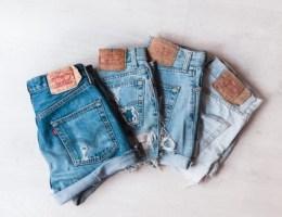 shorts rétro