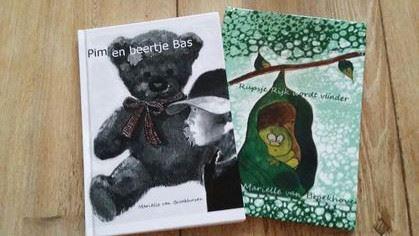 Boekjes Pim En Beertje Bas + Rupsje Rijk Wordt Vlinder