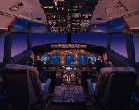 boeing 737 pilótafülke