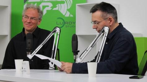 Bódi Zoltán netnyelvész és Szilágyi Árpád szerkesztő-műsorvezető a mesterséges intelligenciáról