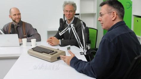Keleti Arthur, Bódi Zoltán és Szilágyi Árpád a DTM október 24-i műsorában. Fotó: Nemes Ilona