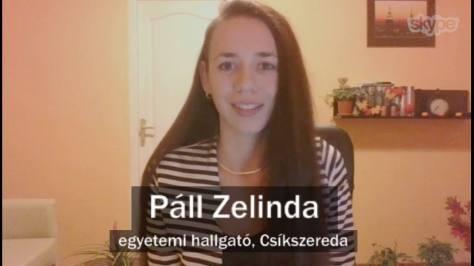 Páll Zelinda a DTM 2017.10.27-i műsorában
