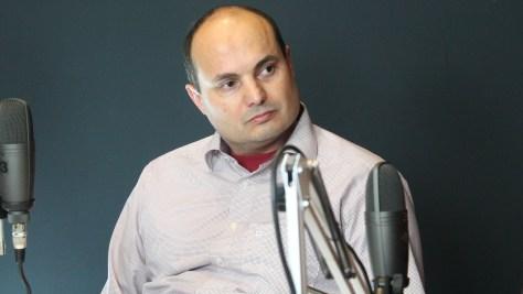 Gulyás László, az EIT Digital budapesti csomópontjának vezetője (Fotó: Nemes Ilona)