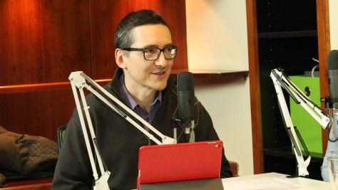 Pintér Róbert, az eNET kutatásvezetője a friss e-sport kutatás adatairól beszél. Fotó: Nemes Ilona