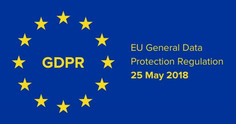 2018. május 25-én lépett hatályba az EU általános adatvédelmi rendelete, a GDPR (forrás: European Patients' Academy, EUPATI, www.eupati.eu )