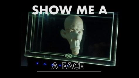 """Lássunk egy arcot – 3D-ben, mármint """"holografikusan"""" térben. Forrás: Looking Glass projekt"""